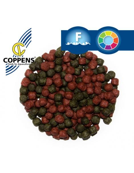 Hrana Coppens Duo Color rosu/verde 6mm (1Kg)
