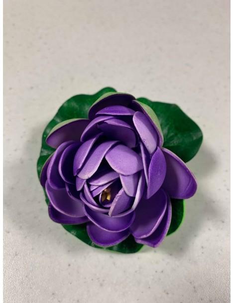 Nufar plastic 10cm, Violet