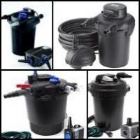Set filtrare iaz sub presiune, kituri complete de filtrare.