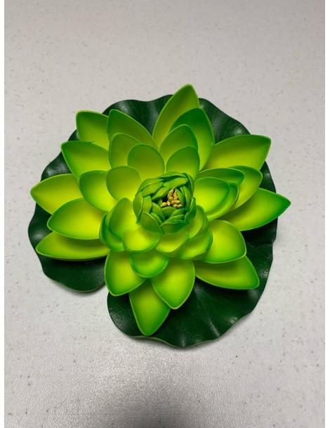 Nufar plastic mare 18cm, Verde