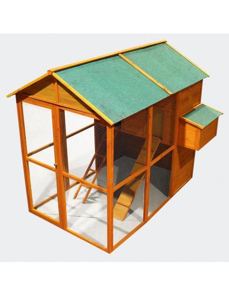 XXL Casa 2 etaje pasăre 190 x 115 x 168 cm (51381)