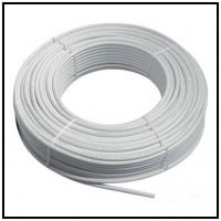 Conducte alb PPE, furtune (max. 6bar) cu perete moale