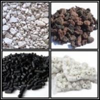 Material filtrant din minerale pentru iaz